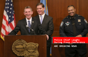 Police held another press conference about the serial crime.