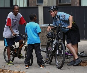 Police are even recruiting boys for training internships, sources say.