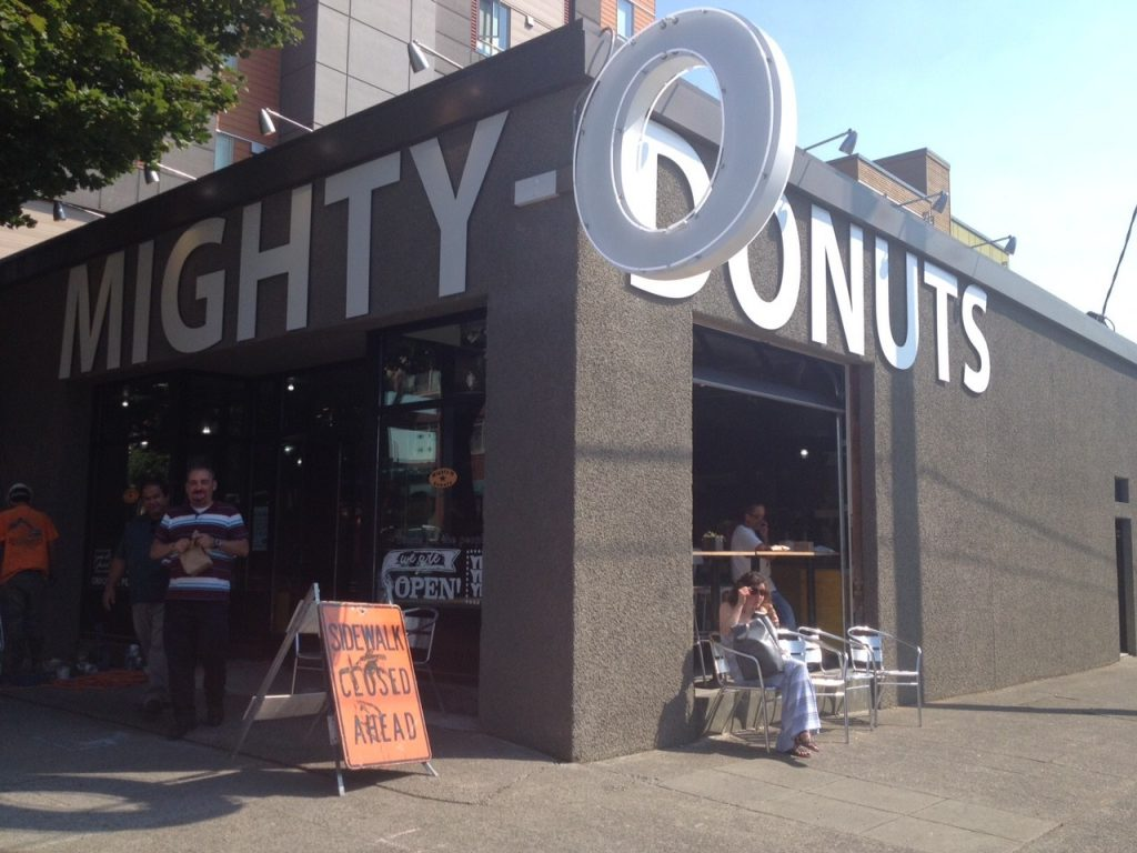 More addicting than heroin?? Mighty O Donuts in Capitol Hill, Seattle