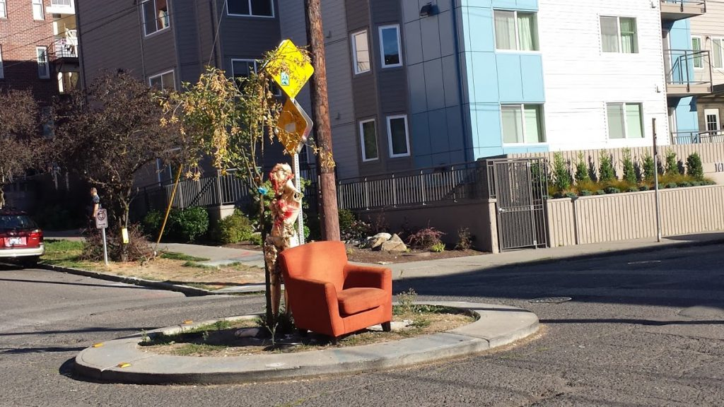 Capitol Hill Street Throne had an appearance this week.