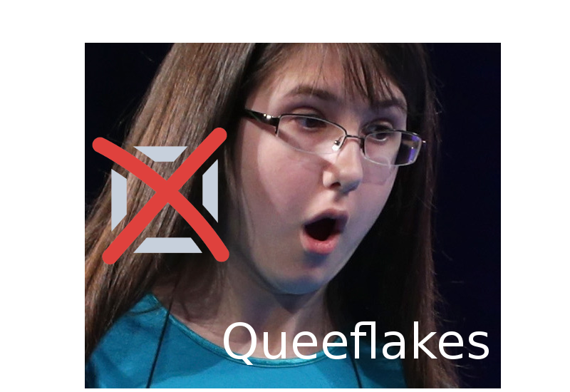 "Last year's runner-up was eliminated in the first round with ""Queeflakes"" (noun: old pussy eaten for breakfast)"