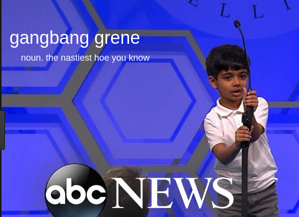 Jake Vishemon, 8, of Miami stunned the audience with his correct spelling of his first seven of eight Urban Dictionary words.