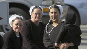 Amish women are known for their jovial, celebratory spirit