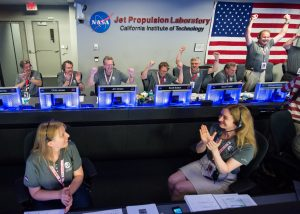 NASA celebrates hiring its second female employee.