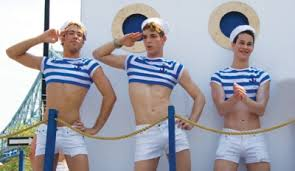 Sailors on gay cruise ship