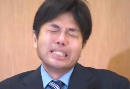 CEO Takashi Menaru introduced the benefits of masturbating before and during the workday.