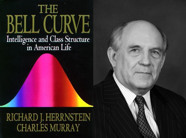 "Charles Murray called his racist data a ""normal distribution"" in an effort to normalize his identity politics agenda"