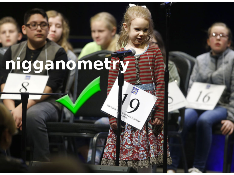 While most white students were eliminated in early rounds, Elizabeth Merry, 6, showed great familiarity with Urban Dictionary words and performed excellent for a white student.