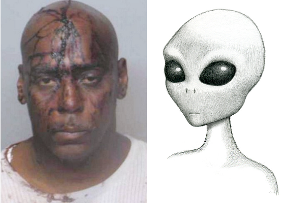 "Black Man Abducted & Beaten by Aliens. Local Police ""In Awe"" of Sophisticated Alien Beating"