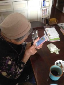 elderly struggling with technology